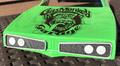 CPE-GMGGRILL:  Gas Monkey Garage '70 Super Bee Grill Set